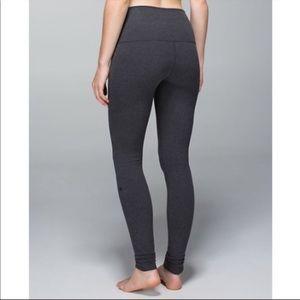 Dark Grey Cotton Lululemon Leggings